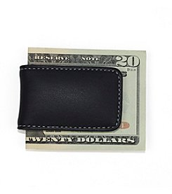 Royce® Leather Magnetic Money Clip with Suede Lining