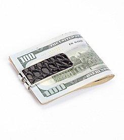 Royce® Leather Luxury Genuine Alligator Money Clip