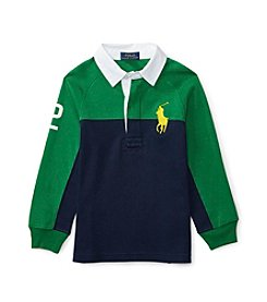 Polo Ralph Lauren® Boys' 2T-7 Rugby Raglan
