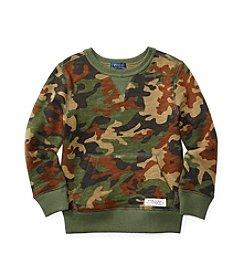 Polo Ralph Lauren® Boys' 2T-7 Camo Pullover Sweatshirt