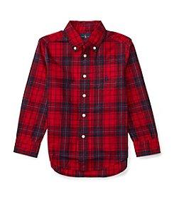 Polo Ralph Lauren® Boys' 2T-7 Long Sleeve Buttondown Shirt