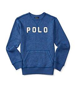 Polo Ralph Lauren® Boys' 2T-7 Logo Pullover Sweatshirt