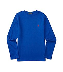 Polo Ralph Lauren® Boys' 2T-7 Long Sleeve Waffle Tee