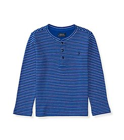 Polo Ralph Lauren® Boys' 2T-7 Long Sleeve Striped Henley