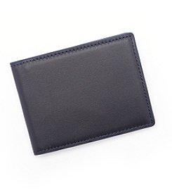 Royce® Leather Men's Slim Bifold RFID Wallet