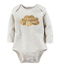 Carter's® Baby Girls' Wake Up Awesome Bodysuit