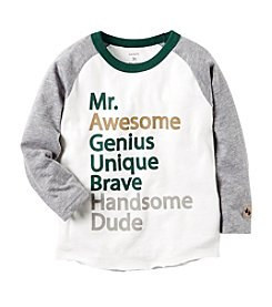Carter's® Baby Boys' Mr. Awesome Raglan Tee