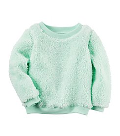 Carter's® Baby Girls' Sherpa Top
