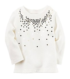 Carter's® Baby Girls' Sequin Tee