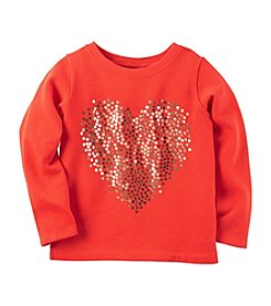 Carter's® Baby Girls' Sequin Heart Tee