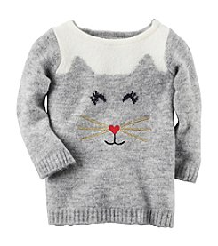 Carter's® Baby Girls' Cat Sweater