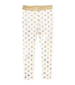 Carter's® Baby Girls' Heart Leggings