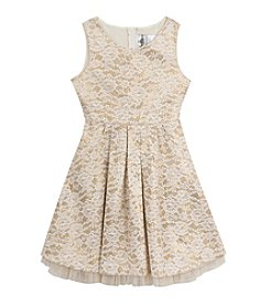 Rare Editions® Girls' 7-16 Sequin Lace Dress