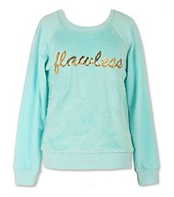 Speechless® Girls' 7-16 Sequin Flawless Sweatshirt