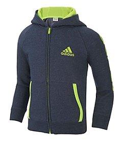 adidas® Boys' 2T-7 Warm-Up Hoodie