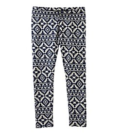 OshKosh B'Gosh® Girls' 2T-6X Geo Leggings