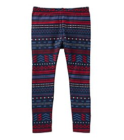 OshKosh B'Gosh® Girls' 2T-6X Fair Isle Leggings
