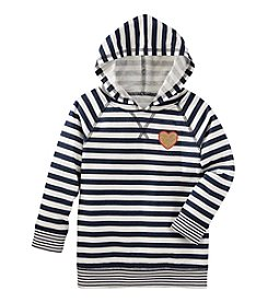 OshKosh B'Gosh® Girls' 2T-6X Striped Hoodie