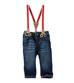 OshKosh B'Gosh® Baby Boys' Denim Pants with Suspenders