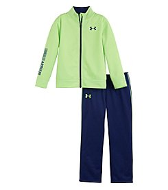 Under Armour® Baby Girls' 2-Piece Teamster Track Set
