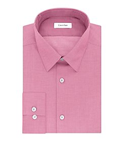 Calvin Klein Men's Primrose Solid Dress Shirt