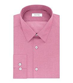 Calvin Klein Men's Primrose Solid Slim Fit Dress Shirt