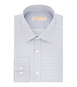 MICHAEL Michael Kors® Men's Bluebird Print Regular Fit Dress Shirt