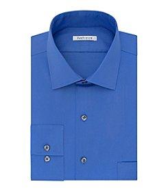 Van Heusen® Men's Blue Solid Dress Shirt
