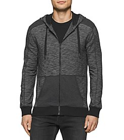 Calvin Klein Jeans® Men's Cross Dye Terry Full Zip Hoodie