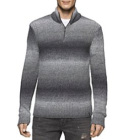 Calvin Klein Jeans® Men's Space Dyed 1/4 Zip Sweater