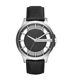 A|X Armani Exchange Men's Stainless Steel Leather Two Piece Strap Watch