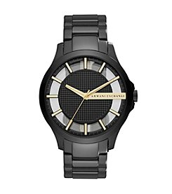 A|X Armani Exchange Stainless Steel Matte Textured Y-Link Bracelet Watch