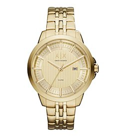 A X Armani Exchange Stainless Steel Matte Y-Link Bracelet Watch