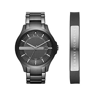 AX Armani Exchange Stainless Steel Y-Link Bracelet Watch