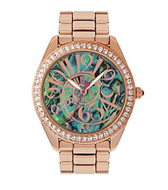 Betsey Johnson® Elegant Abalone Watch