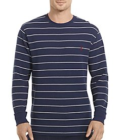 Polo Ralph Lauren® Men's Striped Waffle Crewneck Tee