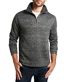 Weatherproof® Men's Sherpa 1/4 Zip Fleece
