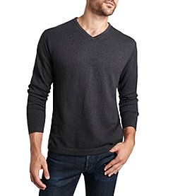 Weatherproof® Men's Solid V-Neck Sweater