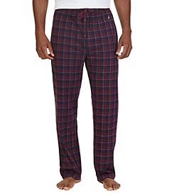 Nautica® Men's Sueded Jersey Plaid Sleep Pants