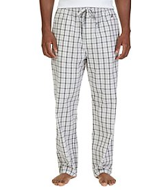 Nautica® Men's Tan Plaid Sleep Pants
