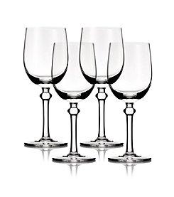 B by Brandie™ Set of 4 Jackie White Wine Glasses
