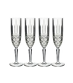 Marquis by Waterford® Set of 4 Brady Champagne Flutes