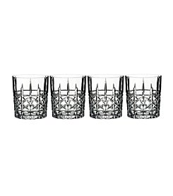 Marquis by Waterford® Set of 4 Brady Double Old Fashioned Glasses