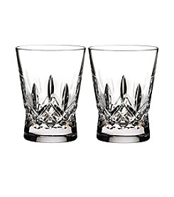 Waterford® Lismore Set of 2 Pops Double Old Fashioned Glasses