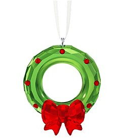 Swarovski® Christmas Wreath Ornament