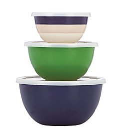 kate spade new york® Rainey Stripe Storage Bowls