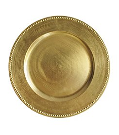 Crystal Clear® Beaded Charger Plate