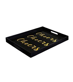 Crystal Clear® Cheers Serving Tray