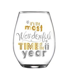 Crystal Clear® Holiday Stemless Glass