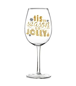Crystal Clear® Jolly Wine Glass